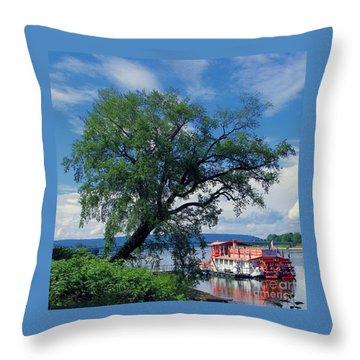 Pride Of The Susquehanna Throw Pillow