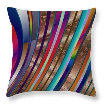 Pride Waves 2101 Throw Pillow
