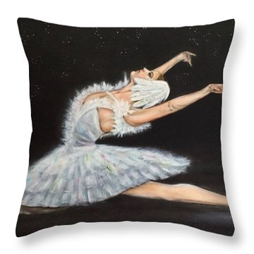 Prima Ballerina Throw Pillow