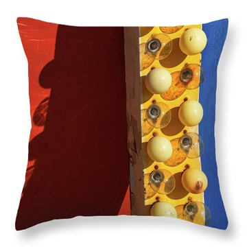 Throw Pillow featuring the photograph Primarily 2 by Skip Hunt