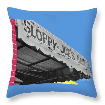 Throw Pillow featuring the photograph Primary Sloppy Joes by Jost Houk