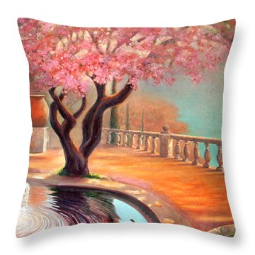 Primavera Throw Pillow