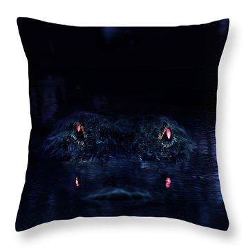 Primeval Throw Pillow by Mark Andrew Thomas