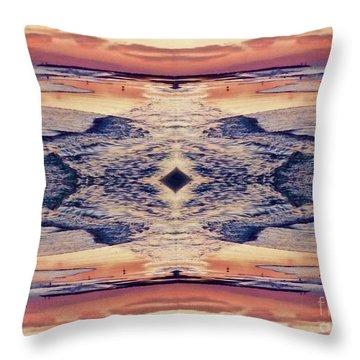 Primordial Passage Throw Pillow