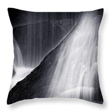 Primordial Veil Throw Pillow