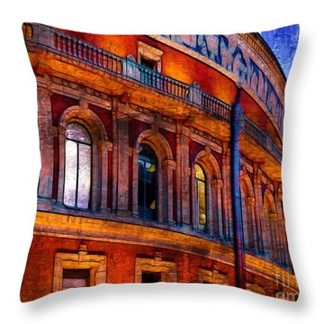 Royal Albert Hall, London Throw Pillow