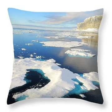 Prince Leopold Island Throw Pillow