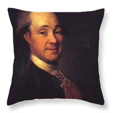Prince Mikhail Shcherbatov 1781 Throw Pillow