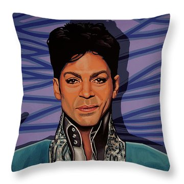Prince 2 Throw Pillow by Paul Meijering