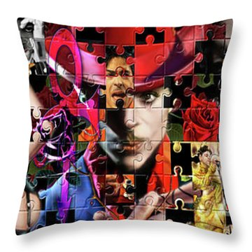 Prince Puzzle Of Missing Pieces 1 Throw Pillow