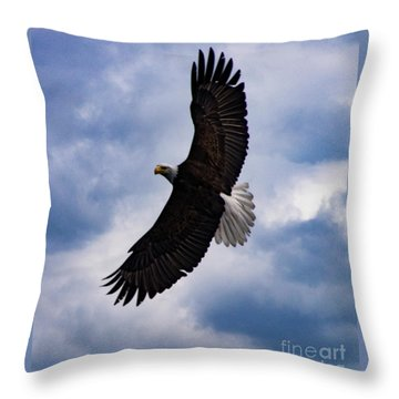 Prince Rupert Soaring Eagle Throw Pillow