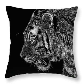 Prince Throw Pillow by Shevin Childers