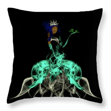Princess And The Frog Throw Pillow
