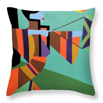 Princess Arrow Throw Pillow