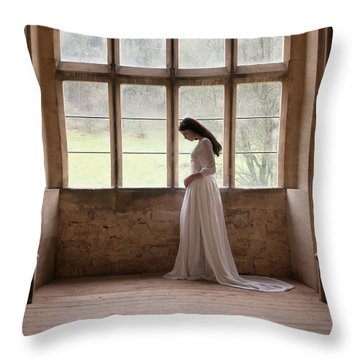 Princess In The Castle Throw Pillow