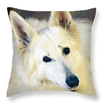 Princess Jane Throw Pillow