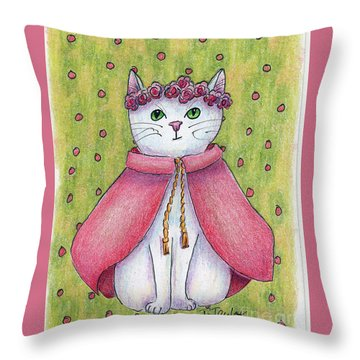 Princess Throw Pillow by Terry Taylor