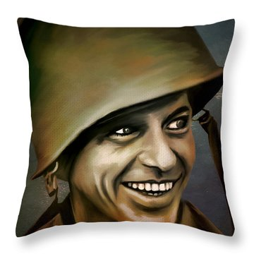 Frank Sinatra 1958 Throw Pillow