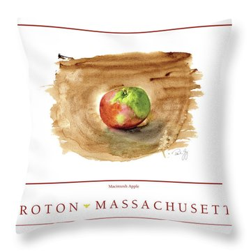 Groton, Massachusetts Throw Pillow