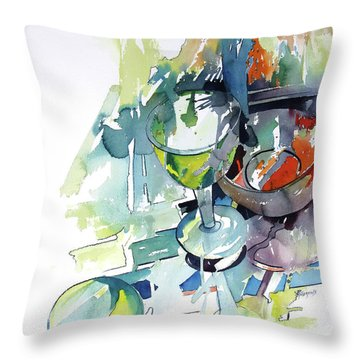 Prism Lights Throw Pillow by Rae Andrews