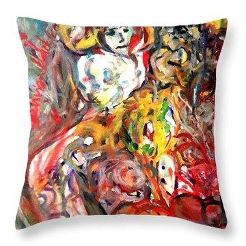 Prison Of Love 5 Throw Pillow