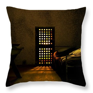 Prison Throw Pillow by Svetlana Sewell
