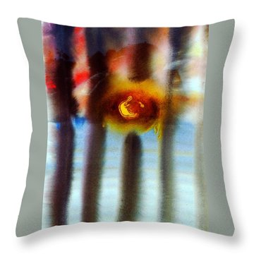 Prisoned Throw Pillow