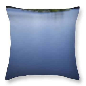 Prisoners Of The Blue Throw Pillow