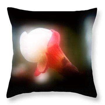 Pristine Beauty Throw Pillow by Mimulux patricia No