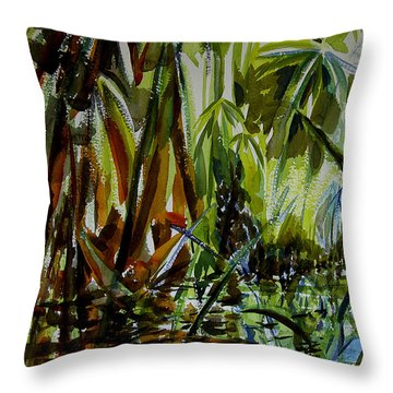 Pristine Waters Throw Pillow