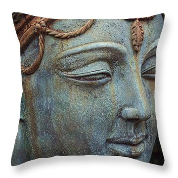 Prithvi Mata Throw Pillow