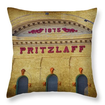 Pritzlaff Throw Pillow by Susan  McMenamin