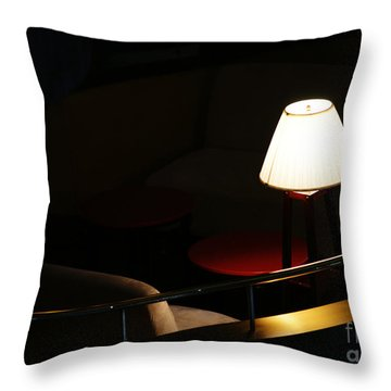 Private Affair Throw Pillow by Linda Shafer