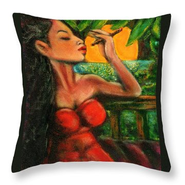 Private Celebration Throw Pillow by Dennis Tawes