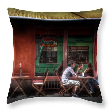 Private Moment Throw Pillow