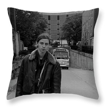 Private Tunnel, 1972 Throw Pillow