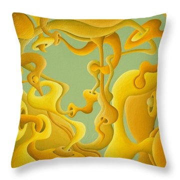Pro-photonic Sunshine System Throw Pillow