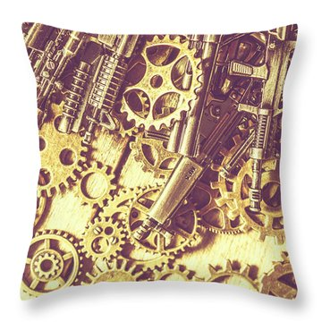 Process Of Strategic Battle Throw Pillow