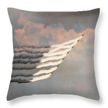 Professionalism Of Excellence Throw Pillow