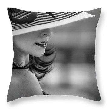 Profile Throw Pillow