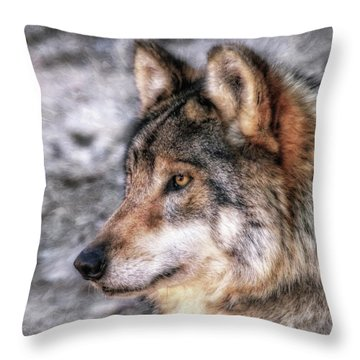 Profiling  Throw Pillow
