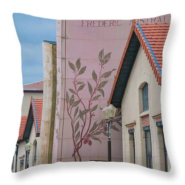 Throw Pillow featuring the photograph Programmatic Architecture by Matthew Bamberg