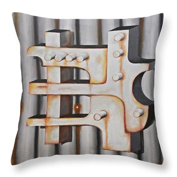 Project Object Series Throw Pillow by John Stuart Webbstock