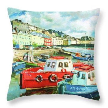 Promenade At Cobh Throw Pillow
