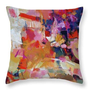 Promenade Throw Pillow by Elizabeth Chapman