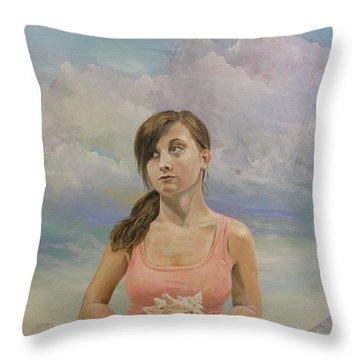 Promethea Throw Pillow