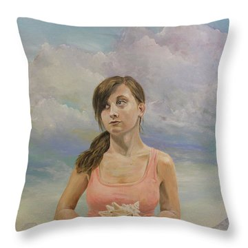 Promethea Throw Pillow