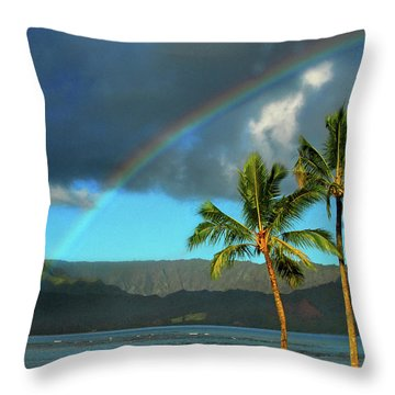 Throw Pillow featuring the photograph Promise Of Hope by Lynn Bauer