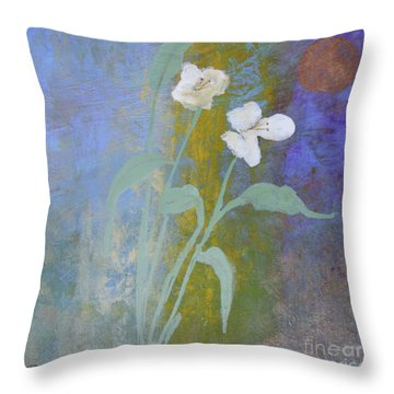 Throw Pillow featuring the painting Promise by Robin Maria Pedrero