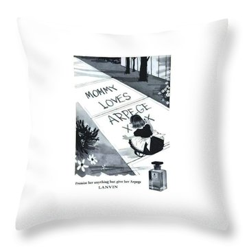 Throw Pillow featuring the digital art Promises by ReInVintaged
